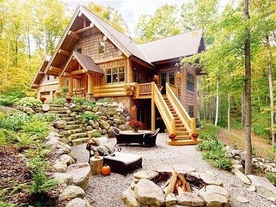 Beautiful Log Home In Harbor Springs Michigan