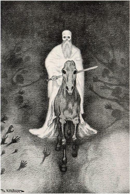 Le Prince Lointain: Theodor Kittelsen (1857-1914), Apokalypse Döden – ...