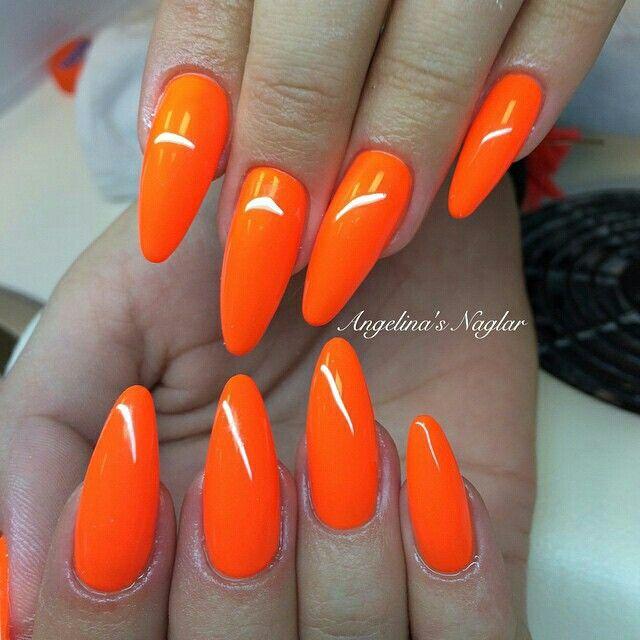17 best ideas about orange toe nails on pinterest
