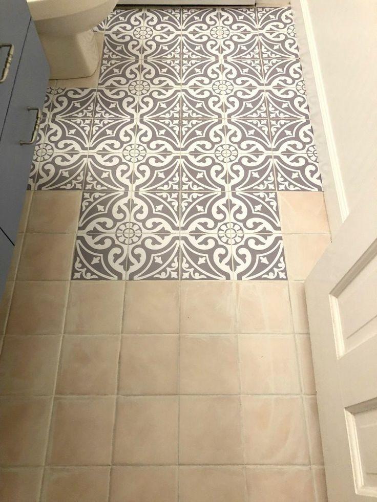 Tile Stickers Bathroom Flooring Painting Tile Floors Flooring