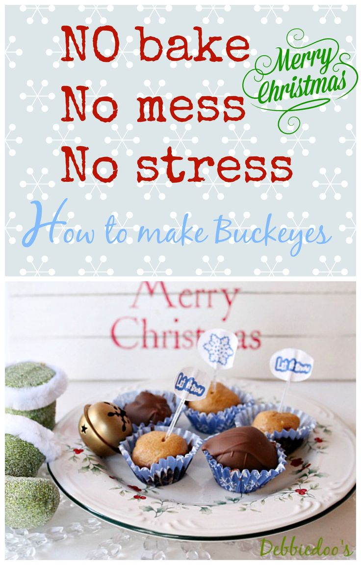 How to make buckeyes