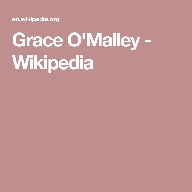 grace omalley essay Founded in 1991 by paediatricians with a unique experience in the field of child and adolescent obesity members are well-known physicians, psychologist, physical activity specialists, nutritionists .