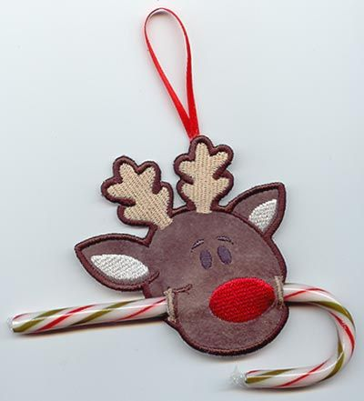 candy cane reindeer instructions
