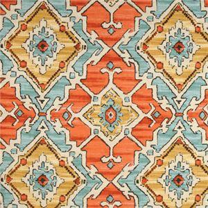 Sundance Tangerine Southwestern Drapery Fabric by P Kaufmann - SW51914 | Discount By The Yard | Fashion Fabrics