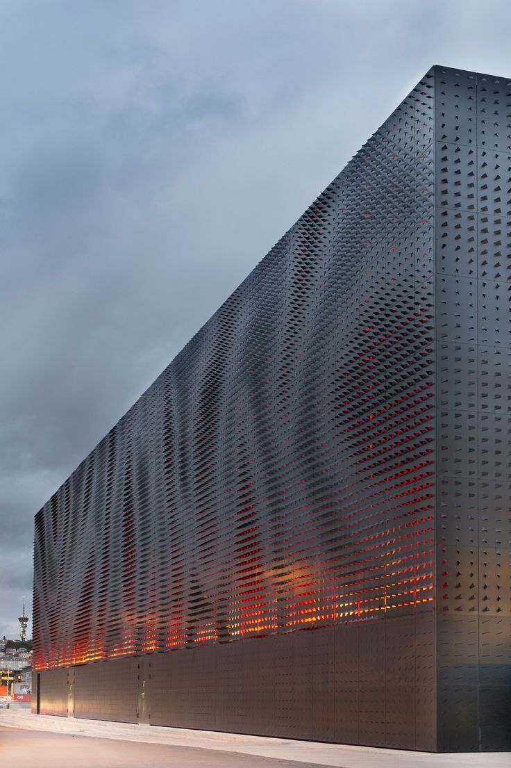 15 Must-See Buildings With Unique Perforated Architectural Façades (Skins)_ 7 Clarion Hotel & Congress Trondheim _ Space Group1