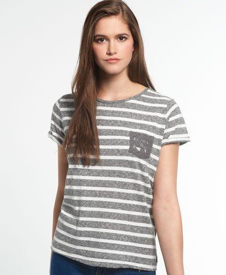 8253c09f5b7fe Superdry Super Sewn Stripe Pocket T-shirt   Listras   Pinterest   Listras