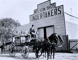 19th Century Undertakers.