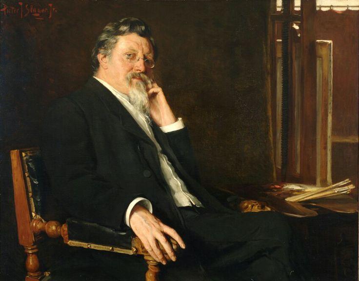 Piet Slager, Mijn vader en leermeester, 1904