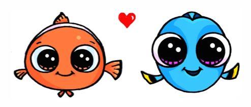 Bébé Nemo Et Bébé Dory