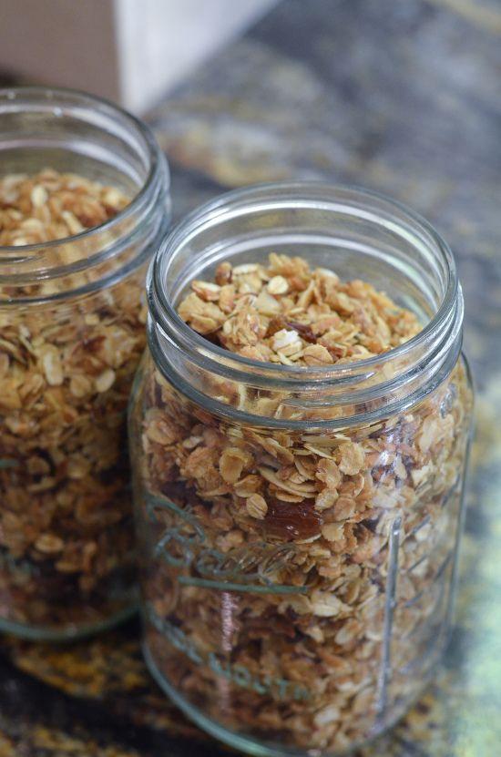 Maple Honey Granola - From Valerie's Kitchen