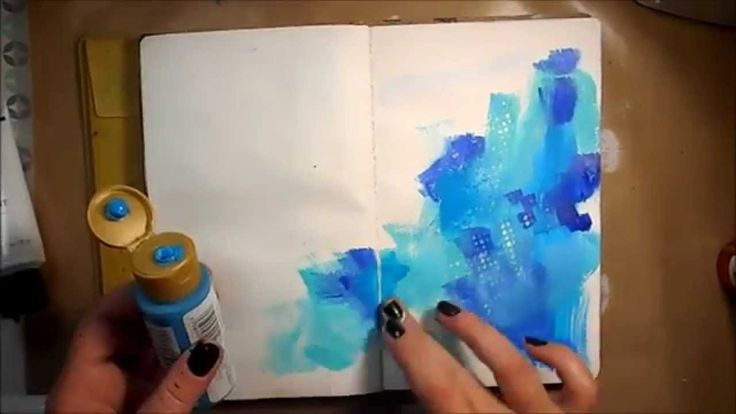 Mixed Media Art Journal Page #16