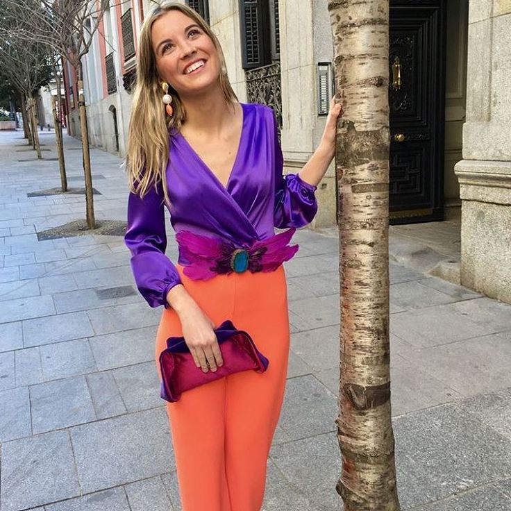 Ideal. Color block. Combinación perfecta de colores. Favorecedor. Look triunfador. #invitada10