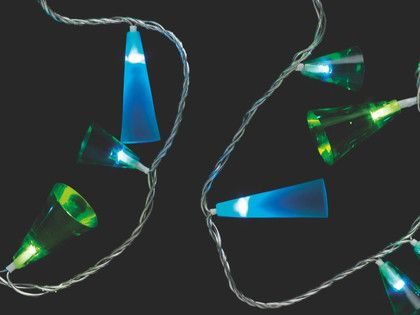FOLIE plastic Outdoor multi-coloured LED fairy light - HabitatUK