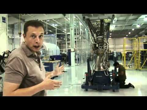 Video ▶ Elon Musk's Tour of the SpaceX Facility in Hawthorne California. #elonmusk #musk #spacex