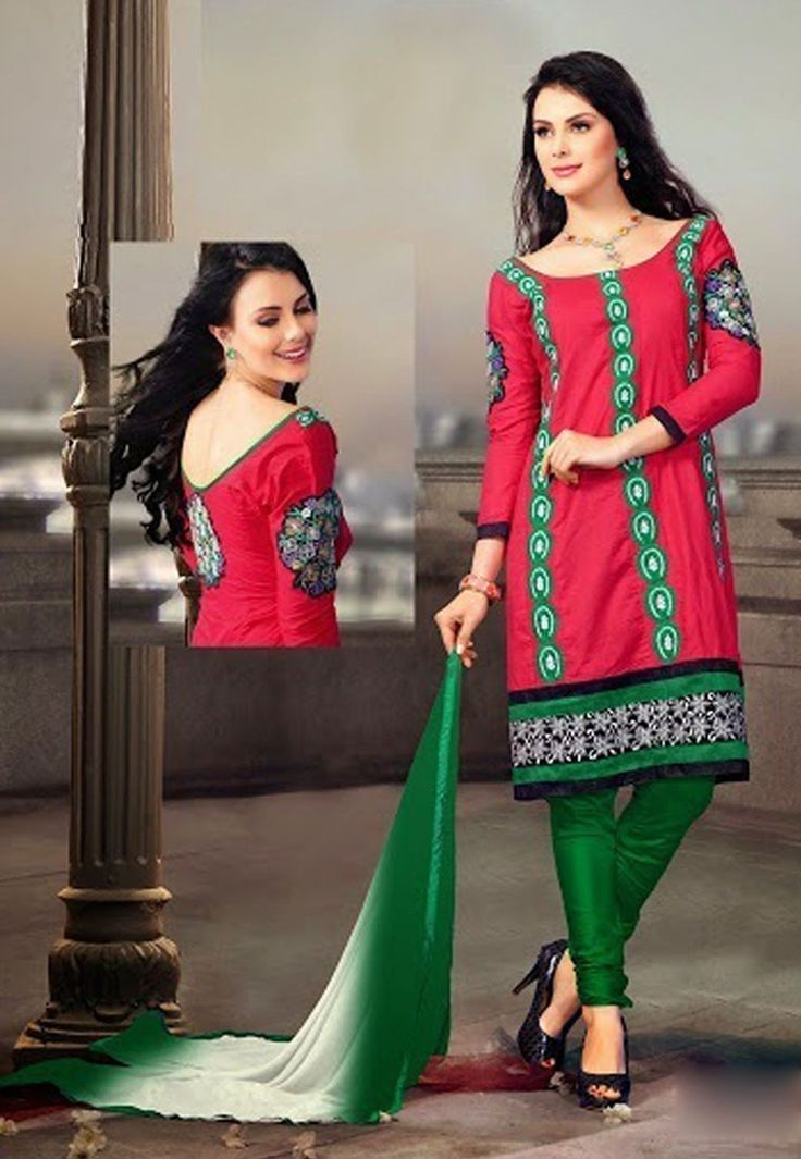 """#Happiness is not the absence of problems, it's the ability to deal with them.""  Maroon #Color Cotton Designer #Salwaar Kameez"