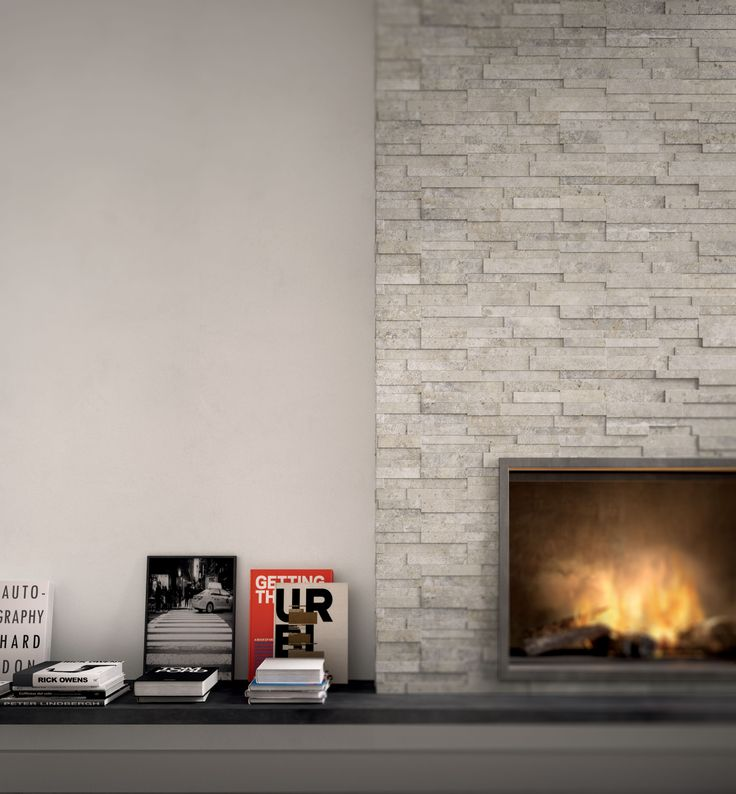 Springstone collection #brick #wall #winter #fireplace