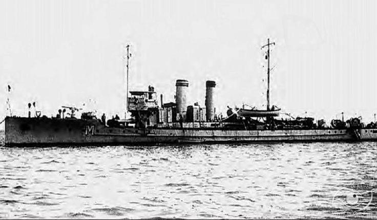 Torpedeiro NRP Mondego (1921-1938) ex-91F.Os navios pertenciam à classe Torpedoboot 82F (Tb82F) de 16 torpedeiros, construídos em Fiume, entre 1914 e 1916, para a Marinha de Guerra Imperial e Real Austro-Húngara (K.u.K. Kriegsmarine).