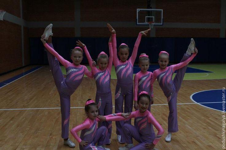 Детские танцевальные костюмы для аеробики