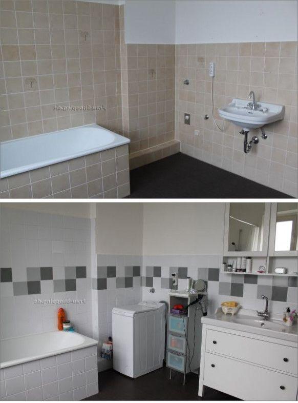 Badezimmer Fliesen Streichen Vorher Nachher Ist So Beruhmt Aber Warum Badezimmer Ideen Schrankmobel Zimmer Bad Vorher Nachher