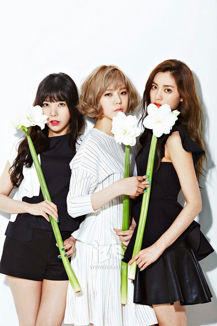 Orange Caramel - ize Magazine April Issue 2014