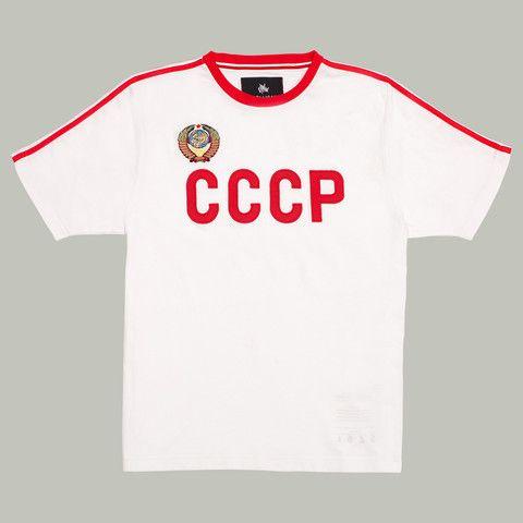 Retro CCCP shirt.