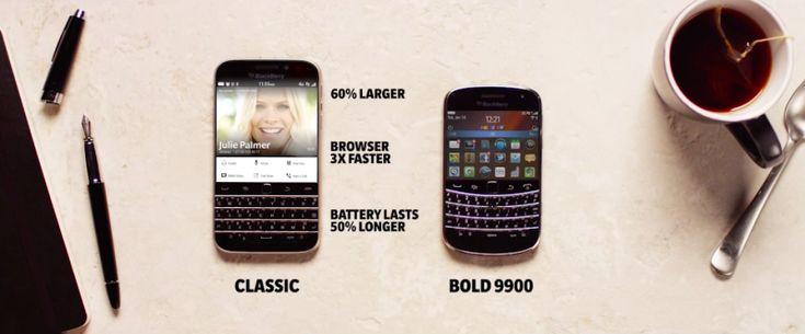 Video: BlackBerry Classic V.S. BlackBerry Bold 9900 - http://blackberryempire.com/video-blackberry-classic-v.s.-blackberry-bold-9900/ #BlackBerry #Smartphones #Tech