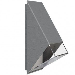 Nordlux Edge 100 Anthracite LED Wall Light 77441050