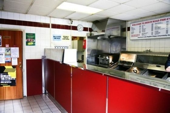 Beech Road Fish and Chip shop