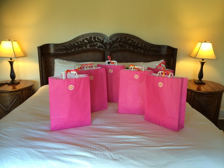Guest welcome bags
