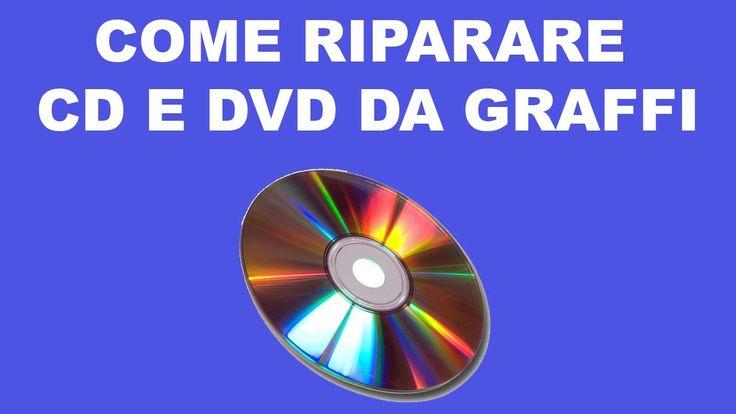 Scopriamo come eliminare i graffi da vecchi CD e DVD