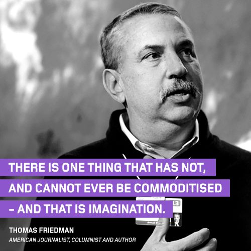 Our #ThoughtOfTheWeek, for the 6th of April 2015,  this week comes from American journalist, columnist and author, Thomas Friedman.