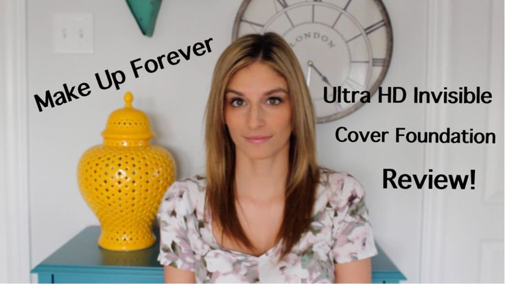 Review of Make Up Forever Ultra HD Invisible Cover Foundation Vlog!