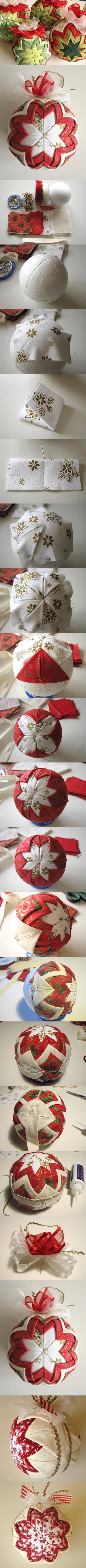 DIY Patchwork for Christmas DIY Patchwork for Christmas by Bohemian Boulevard Good picture tutorial.