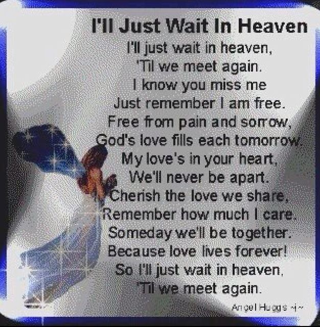 In Heaven Quotes Miss You: Missing My Son In Heaven