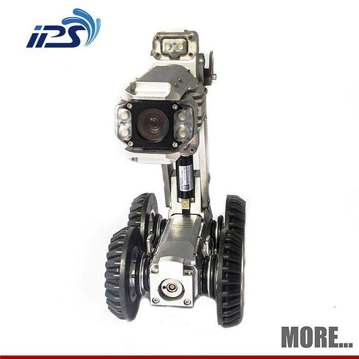 Pan en Tilt digitale s100 robot-camera voor zwembad schoonmaken en riool lijn inspectie