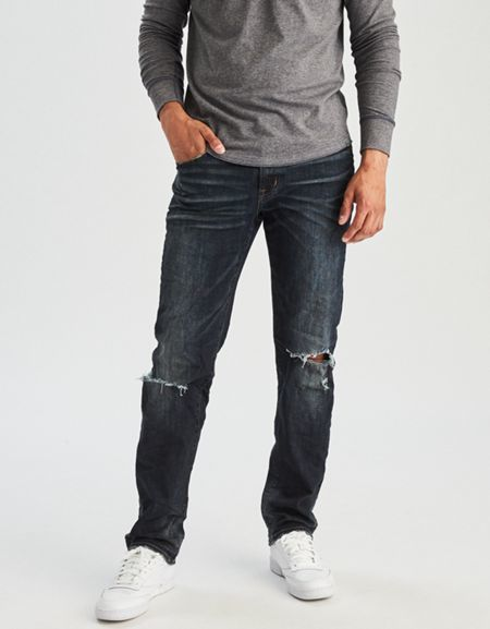 3b0f4300 American Eagle Outfitters AE Extreme Flex Original Straight Jean ...