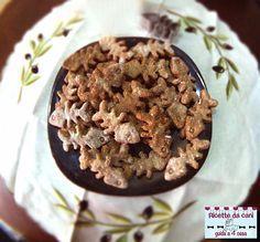 Ricetta dei biscotti pesciolini al tonno per cani, ricette da cani