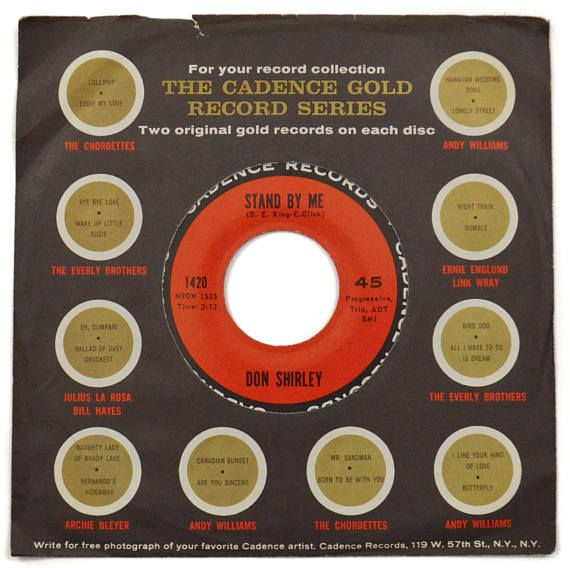 Vintage 60s Don Shirley Stand By Me Soul Jazz 45 RPM Single