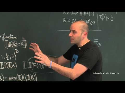 Lesson 3: The Liar Paradox. Logic and Paradoxes. University of Navarra MOOC - YouTube