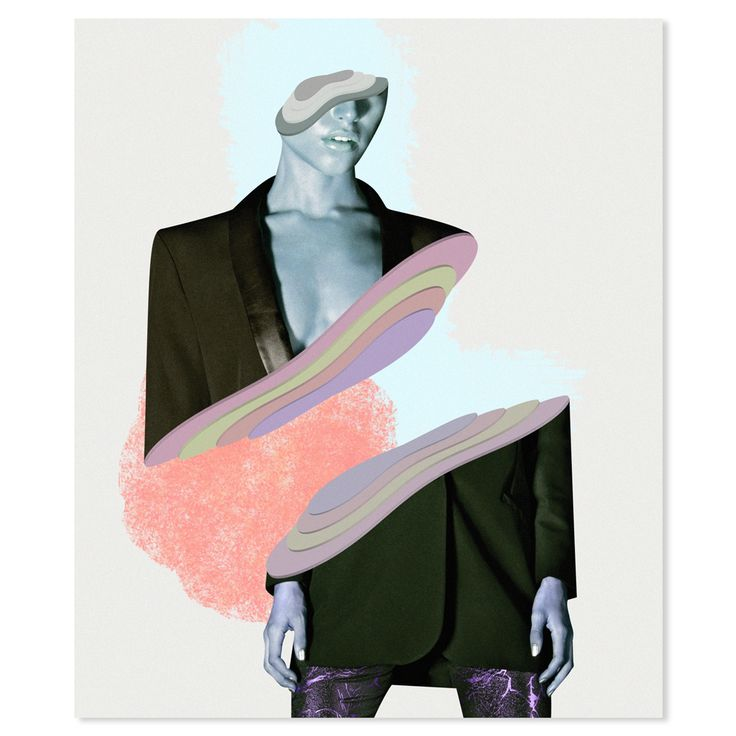 Her | Collage fashion Illustrations on Behance