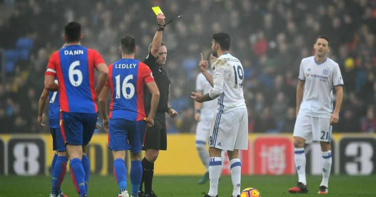 The Chelsea forward picked up his first booking in 11 games against Crystal Palace, meaning he'll miss Boxing Day's clash with Bournemouth. Party time, right?