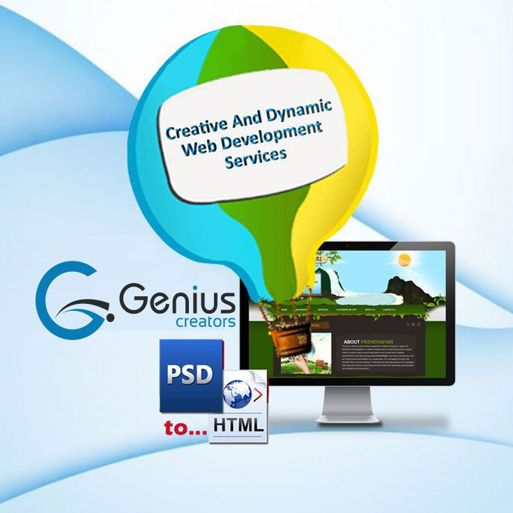 Genius Creators provides #webdesign and #development solutions, from custom website design to flash animation, #ecommerce, #searchengineoptimization, content management and mobile website design.