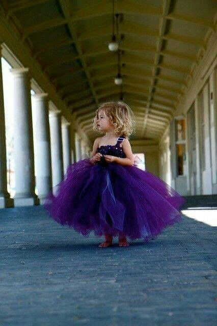 Sweet, would love this for a flower girl dress