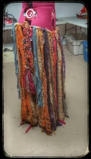 gypsy rag skirt
