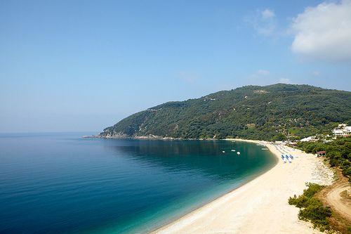 lichnos beach, epirus, greece