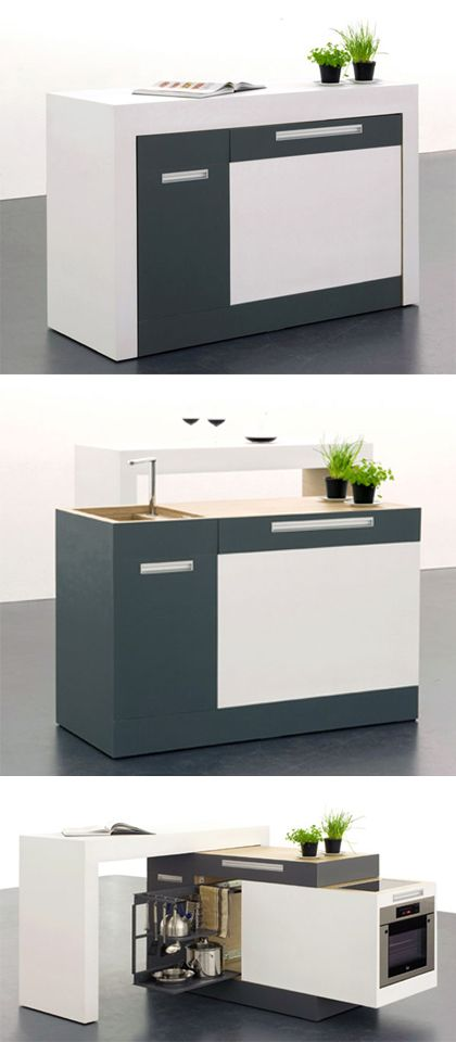 Awesome Compact kitchen – Suitable For Small Apartment