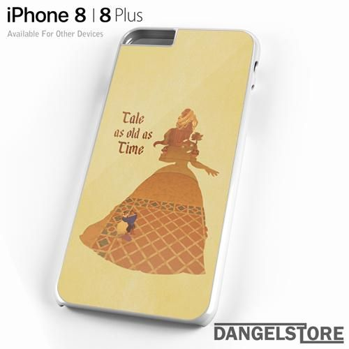 beauty and the beast tale as old as time For iPhone 8 | 8 Plus Case