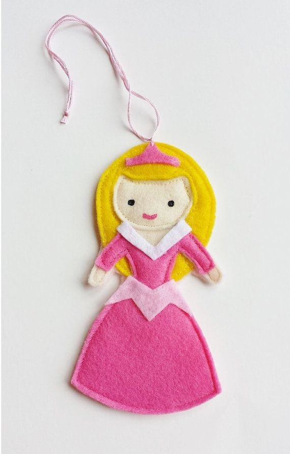 Sleeping Beauty Aurora Disney Princess Felt Air by CloudKids, $8.99