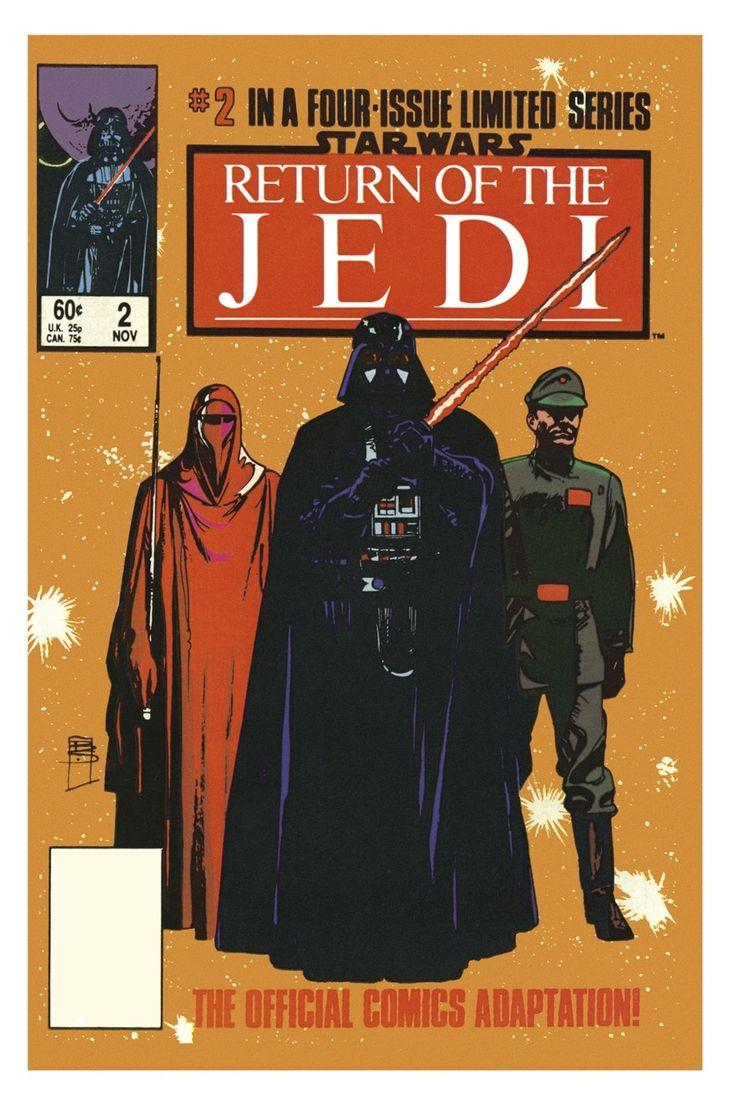 Star Wars: Return of the Jedi (1983) by Bill Sienkiewicz