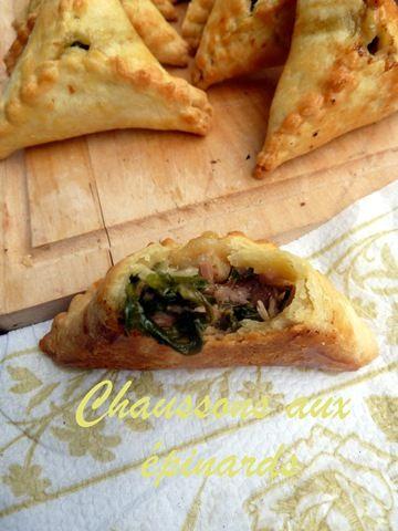 Fatayer aux épinards /cuisine Libanaise